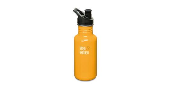 Klean Kanteen Classic Trinkflasche mit Sport Cap 532ml golden poppy